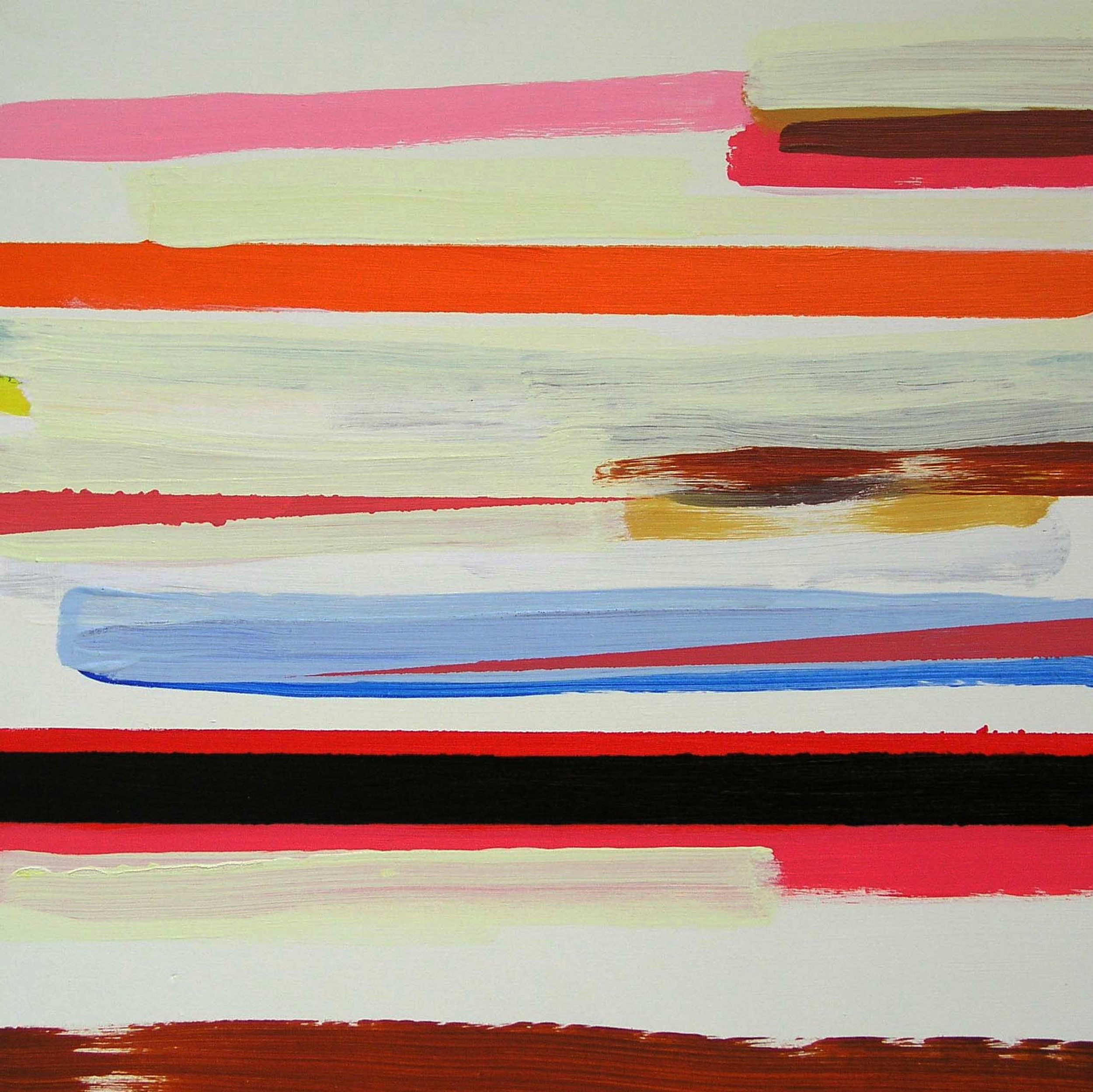 Shoreline 1  2009, 40 x 40cm acrylic on board