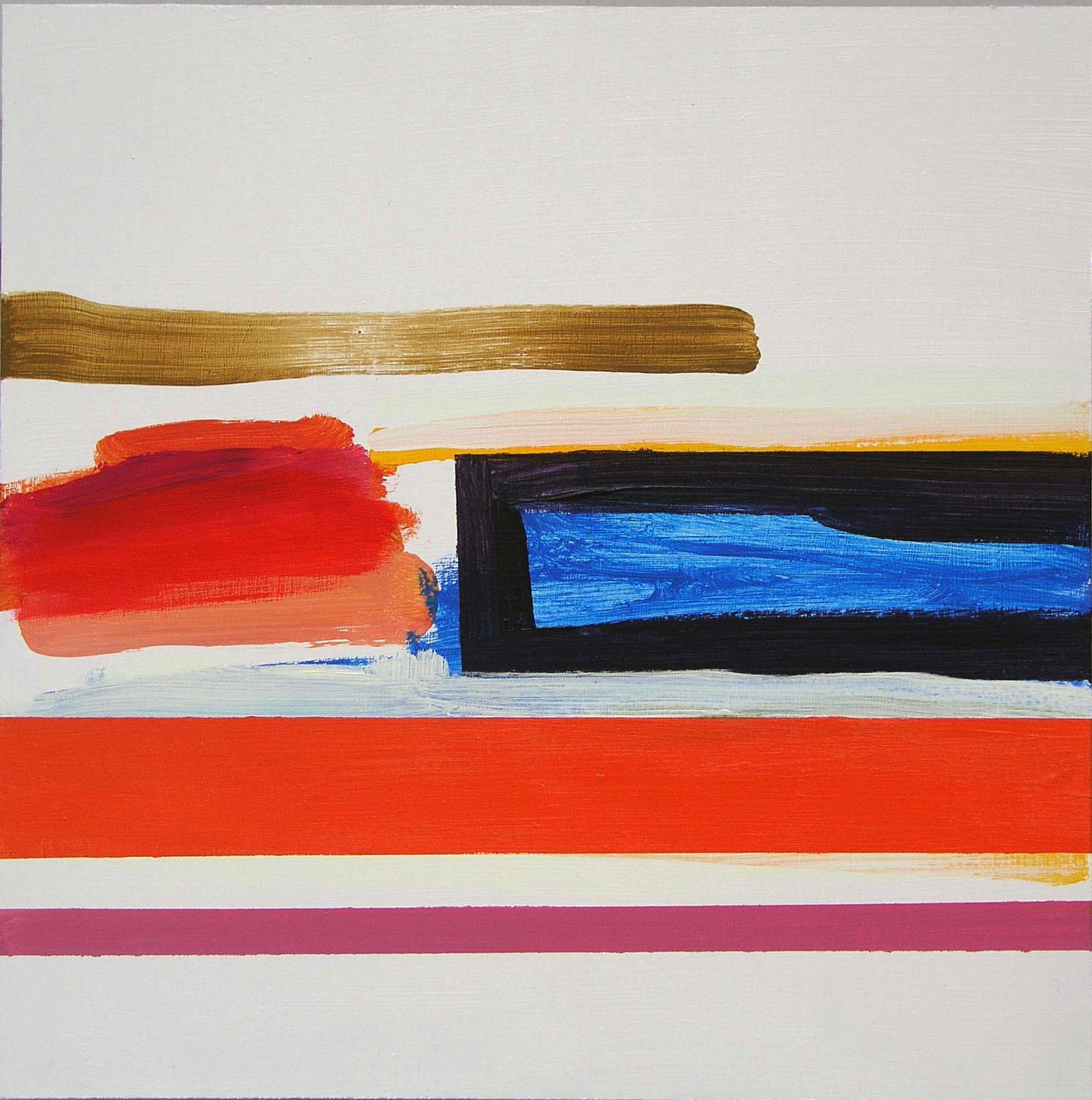 Blue Pool  2009, 40 x 40cm acrylic on board