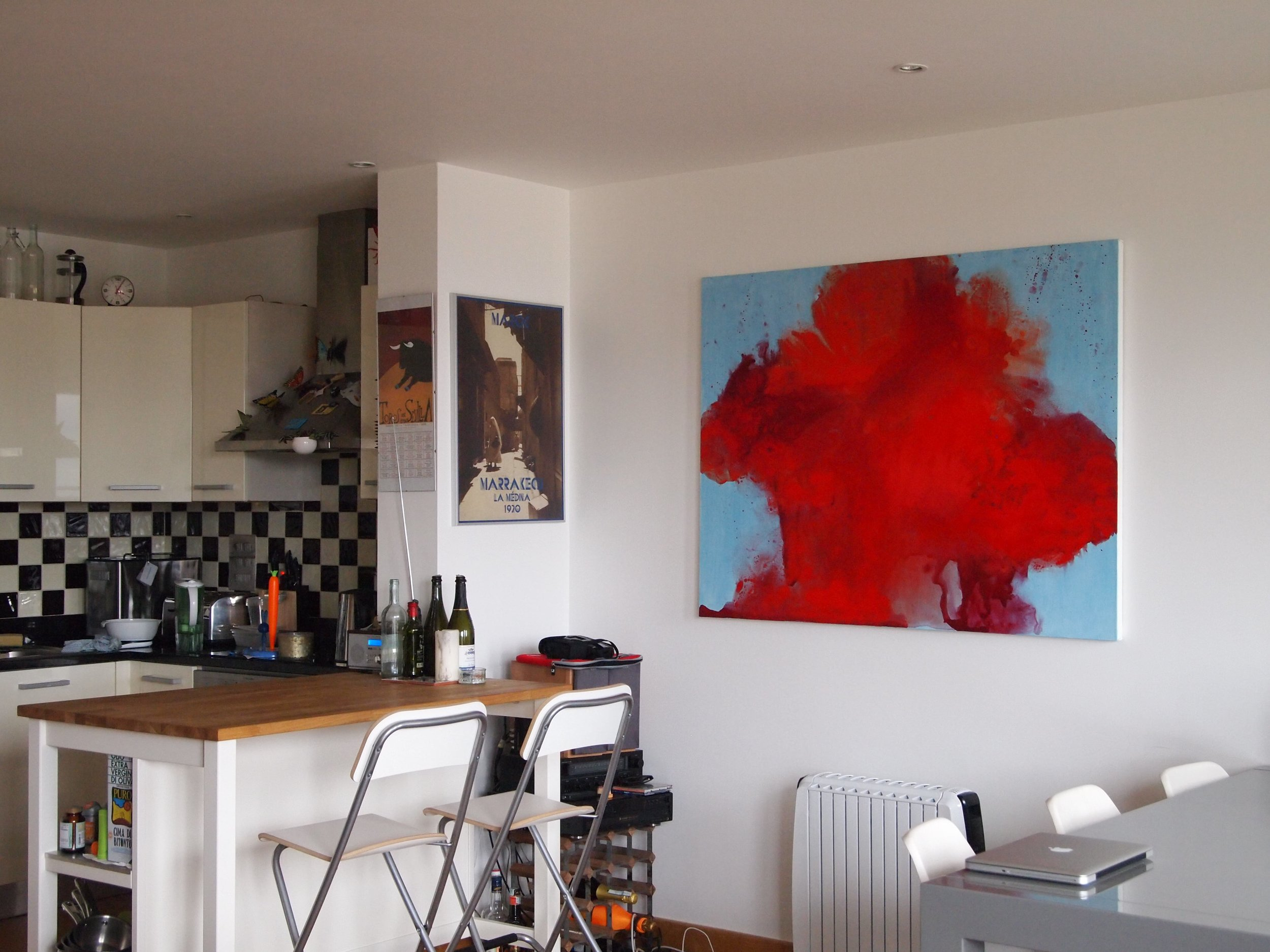 Hackney Wick apartment 2013