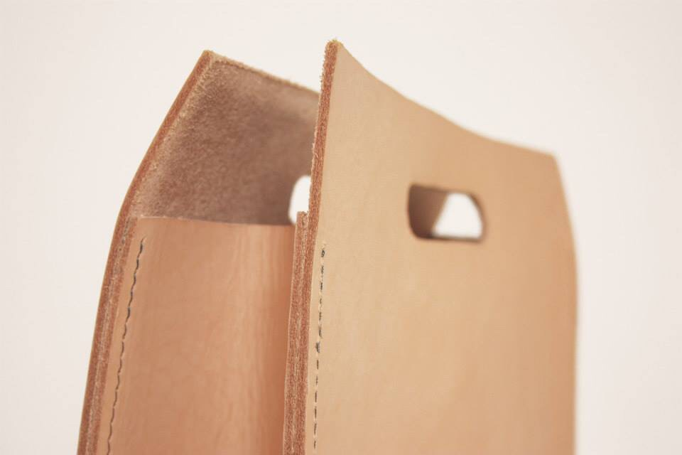 Naturally tanned cow leather (2011)