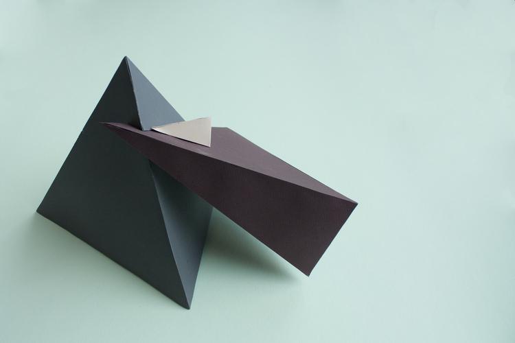 Styrofoam and paper (2012)