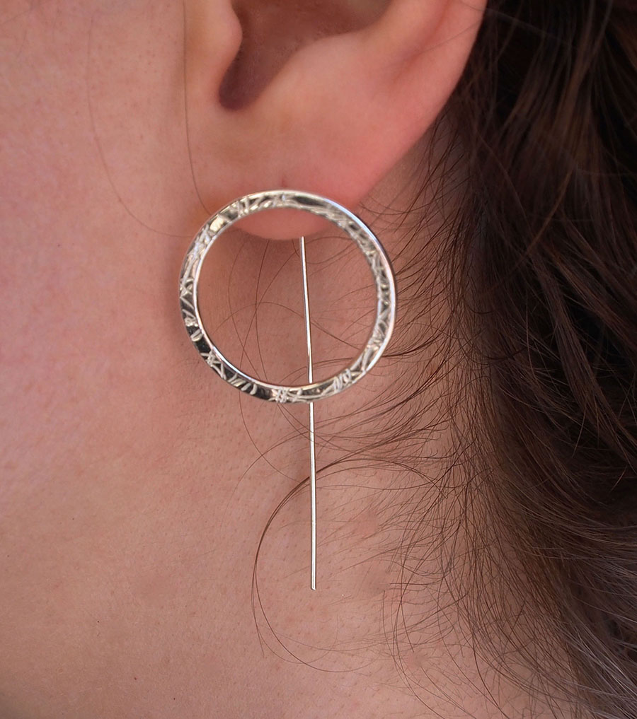 Chunky Hoop Stud Earrings(Worn).jpg