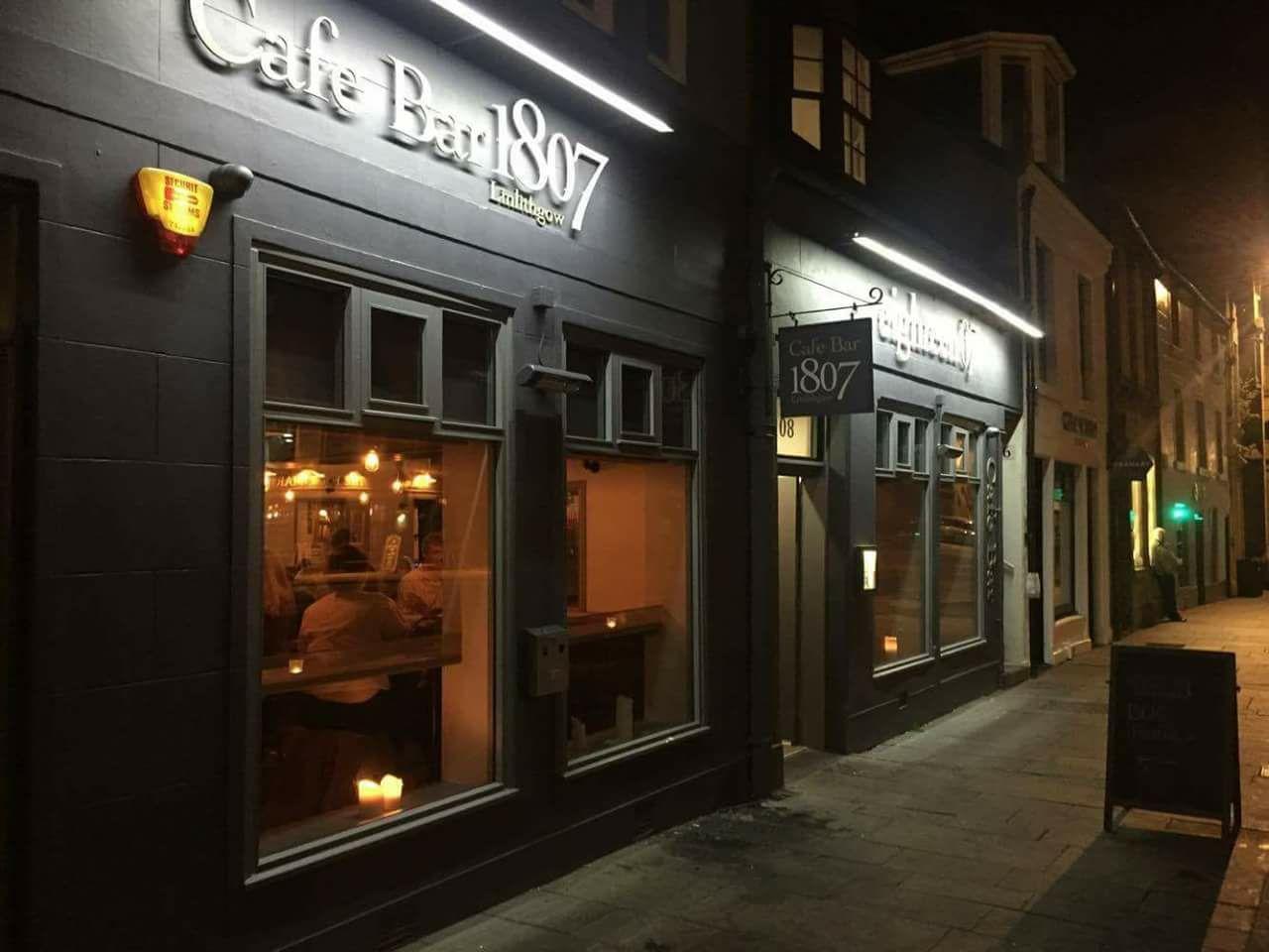 Cafebar 1807 Restaurant Bar In Linlithgow