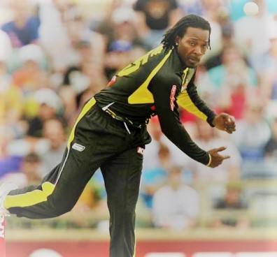 Can't resist an excuse to use a picture of Chris Gayle, even in a post about bowling