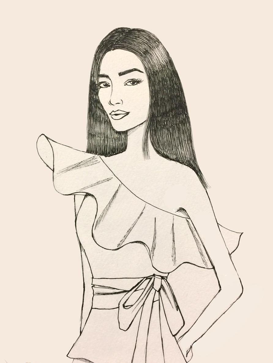 Here's my original sketch