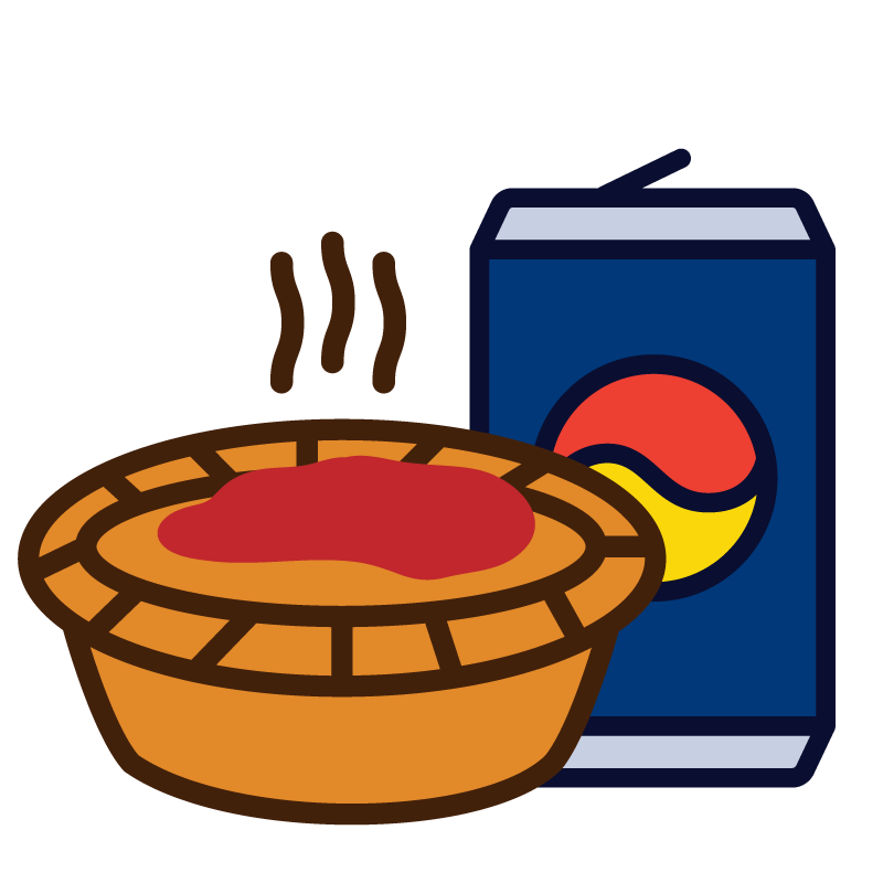 pie & can $7.00