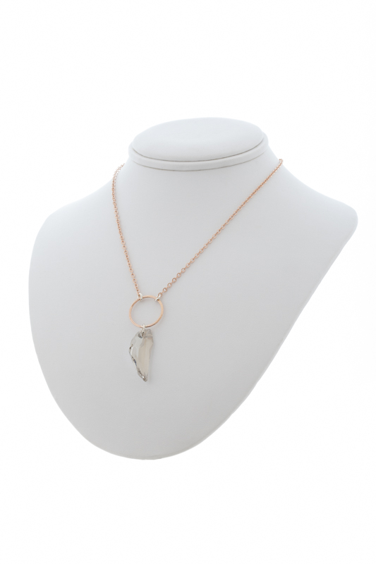 Rose Gold Pegasus Necklace - $130