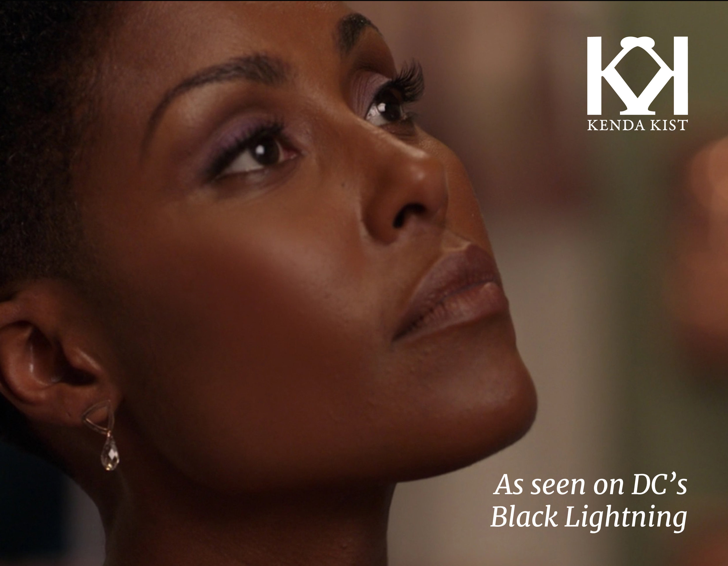 Black Lightning - Look for Kenda Kist Jewelry on the show Black Lightning!