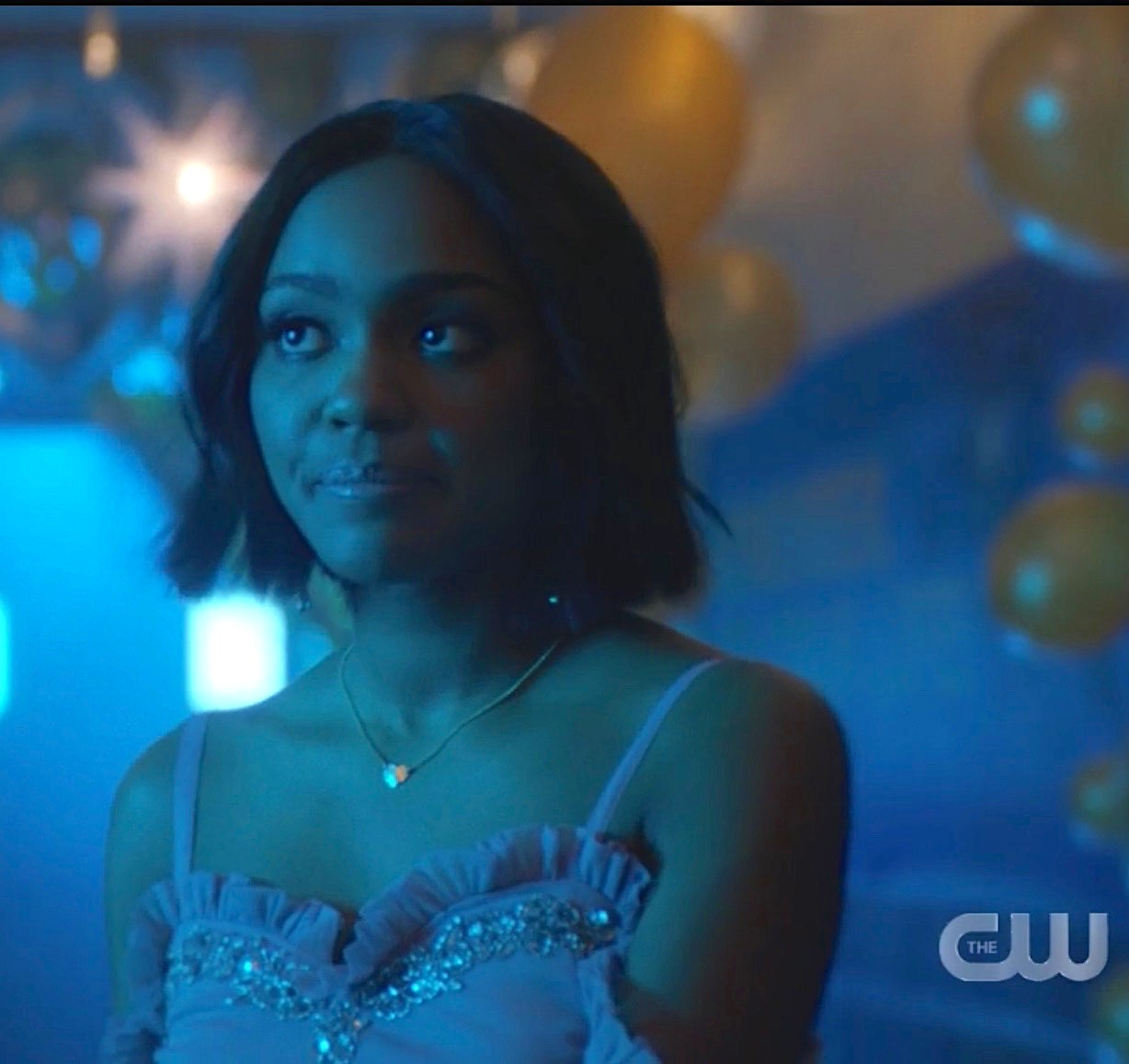 Heart Necklace - Our 14k Gold Filled Heart Necklace plays a significant role for China Anne McClain as Jennifer Peirce.