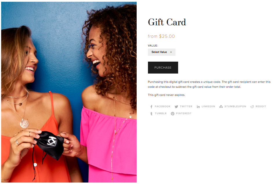 Gift Cards - Are you looking for the perfect present, but you're not sure what to get? Give the gift of Kenda Kist!