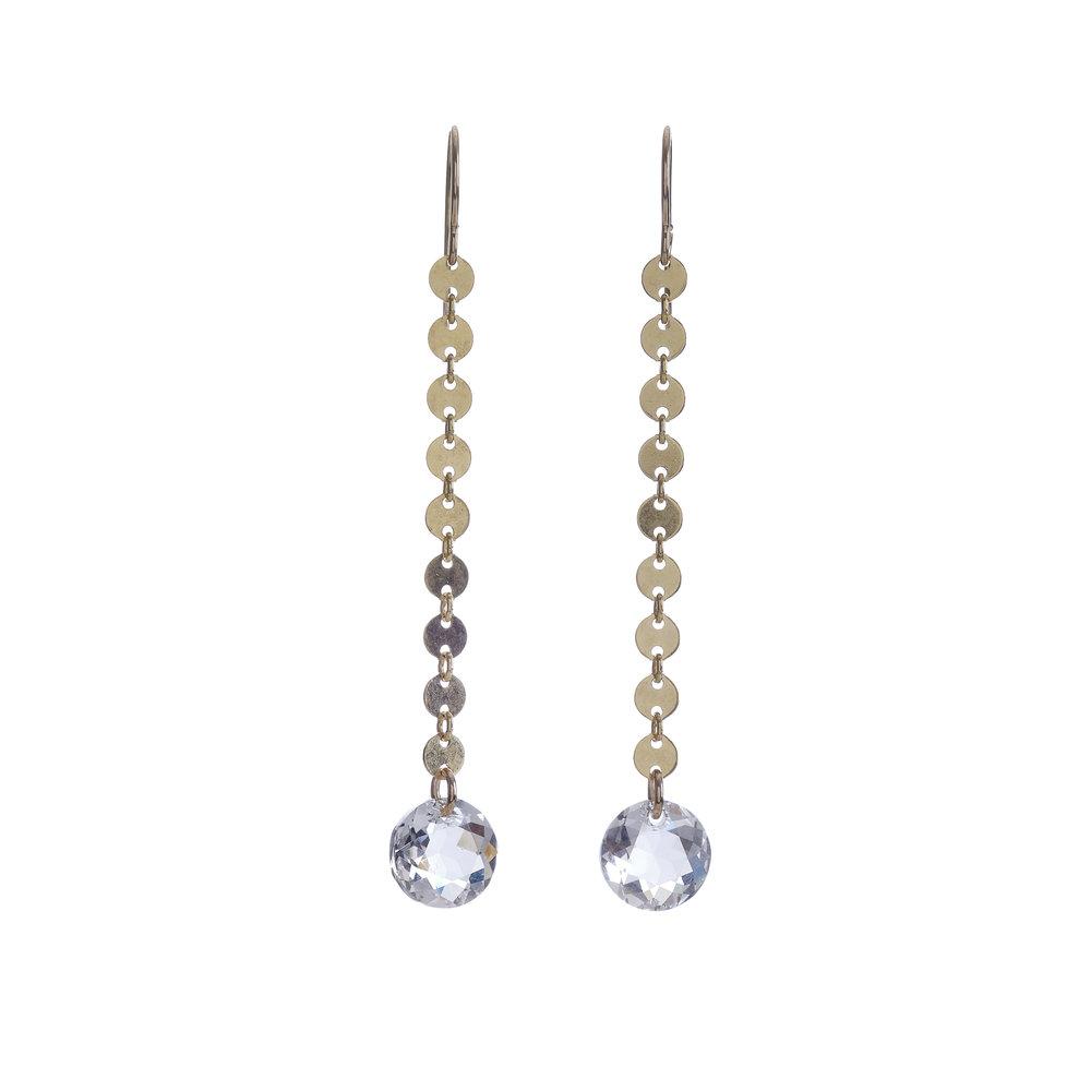 Mykonos Crystal Earrings