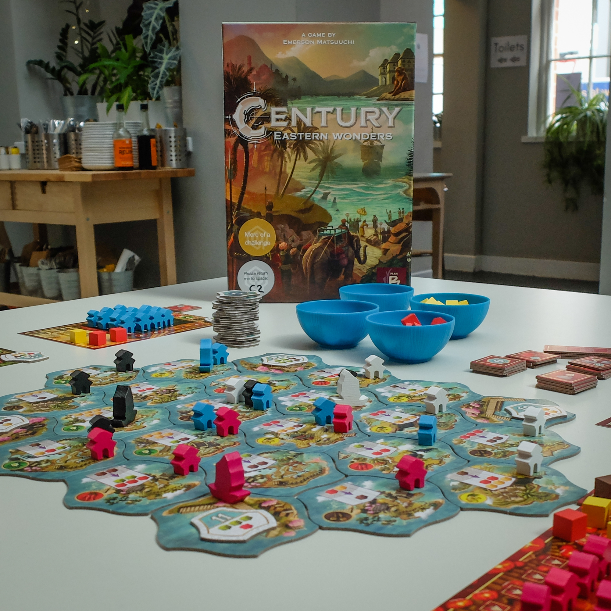 Century: Eastern Wonders in all its glory