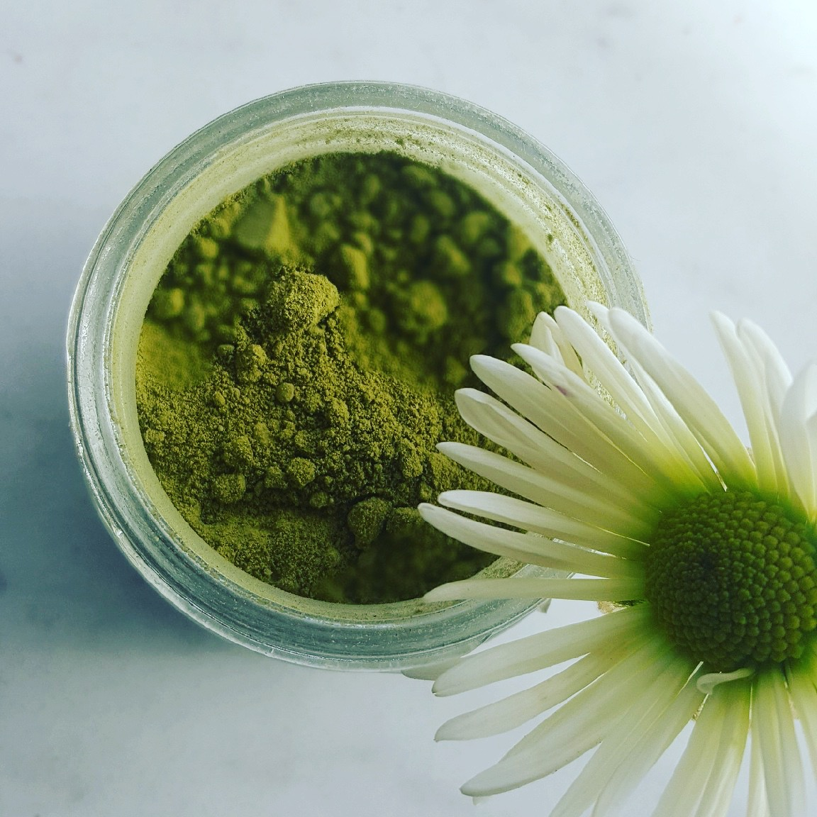 green matcha tea mask