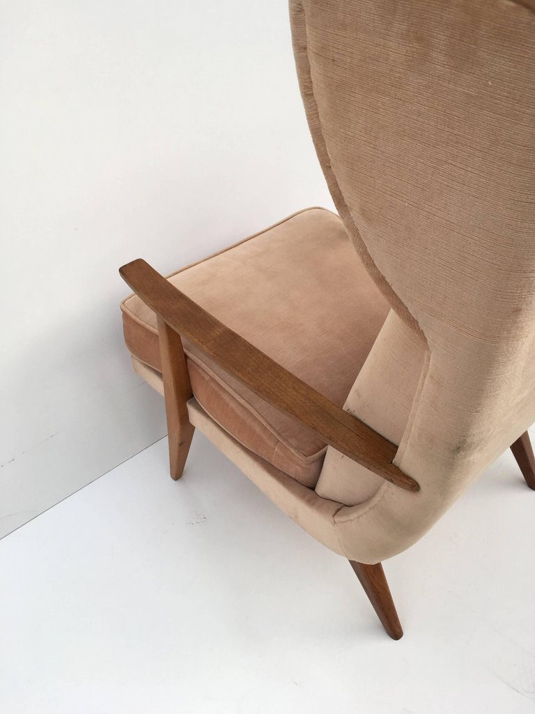 Image of: Mid Century Modern Australian Armchair Chair Clavel