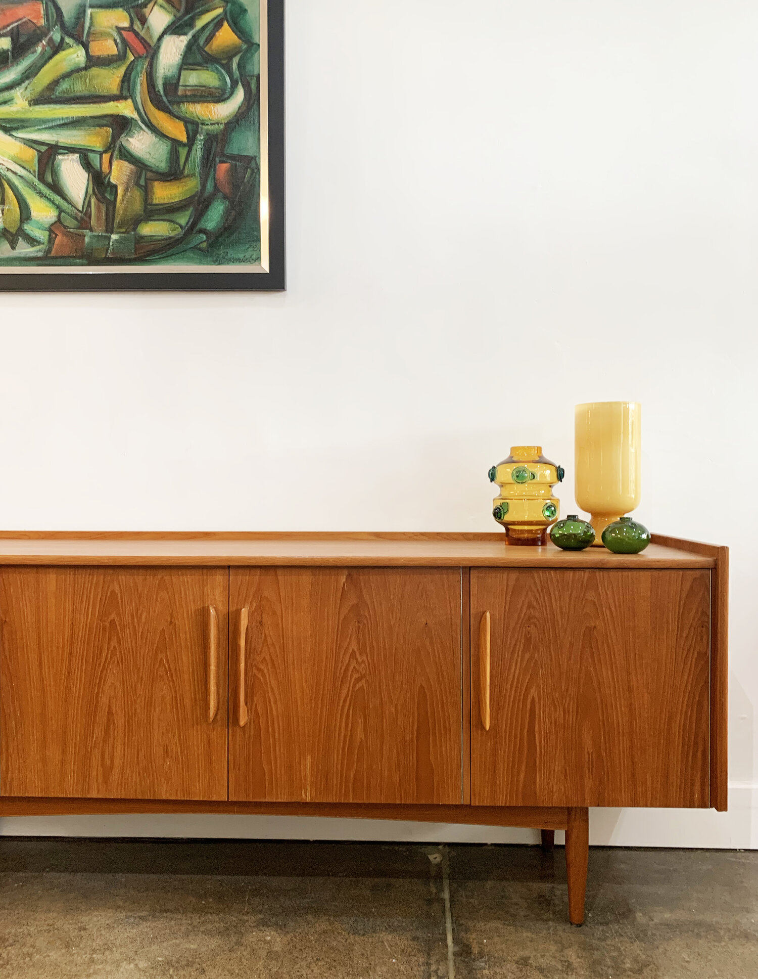 Mid Century Rosando Australian Blondewood Sideboard, 20s — Clavel