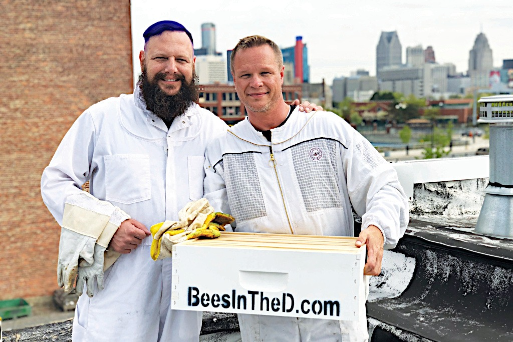 "Three years and more than 100 hives and six million new bees later, Bees in the D is generating major Motor City buzz. ""We can't keep up with all of the emails and the phone calls,"" says Peterson-Roest. ""It's unbelievable."""