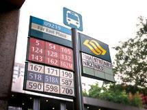 Far east plaza bus stop no. 09219