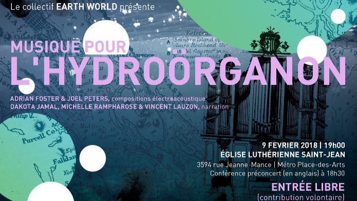 Music for the Hydroörganon (Feb. 2018) - St. John's Lutheran Church (Montréal)