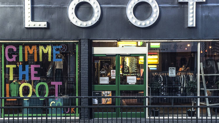 Loot Clothing is an awesome vintage shop in Bristol, near the Bear Pit - check them out!