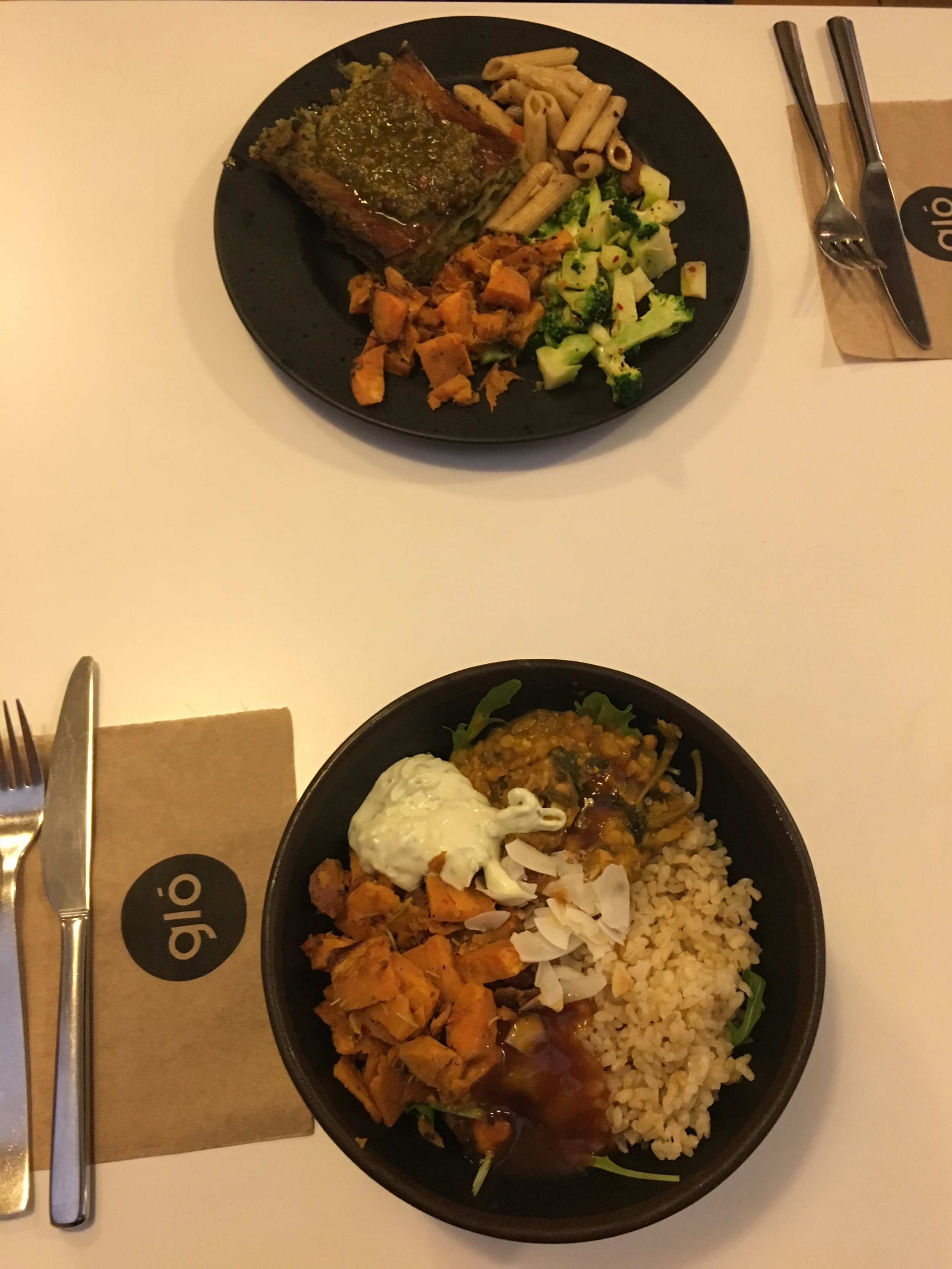 Glo makes the best vegan Buddha Bowls I've ever had - a must try!