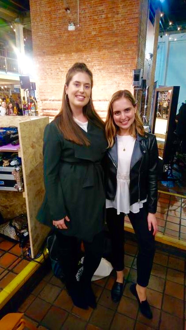 It was so lovely to meet @marta_canga at the show, top vegan fashion babe!