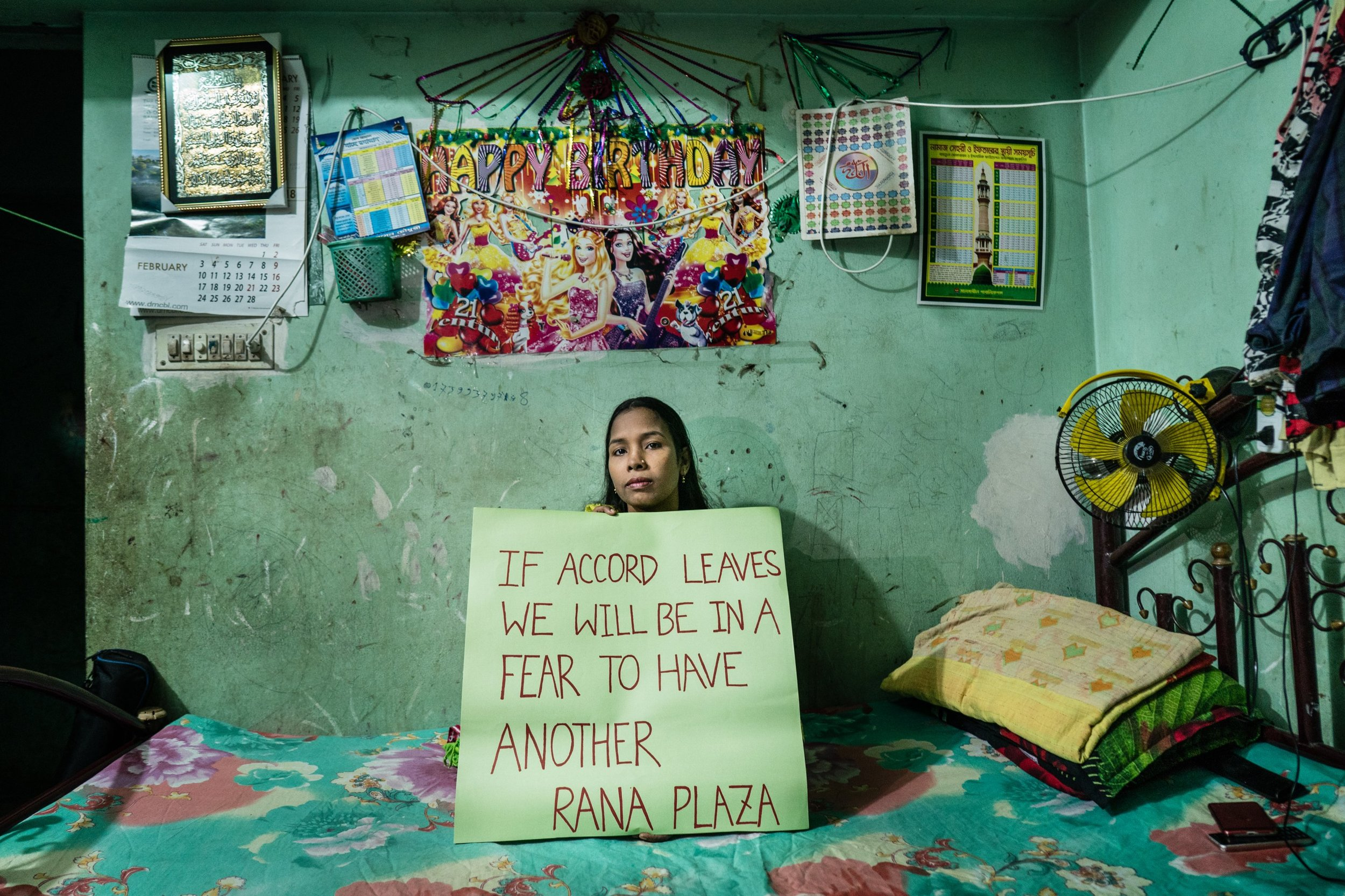 Garment workers in Bangladesh rely on the Accord to be able to work in safe environments