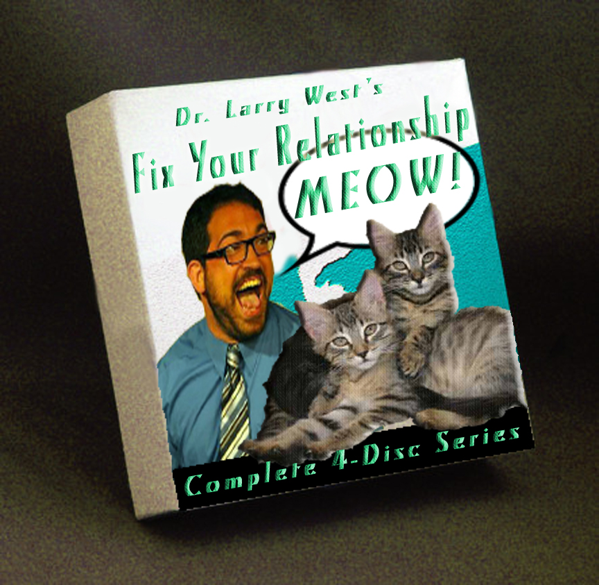 """Fix Your Relationship Meow!"" Couple's Therapy CD"