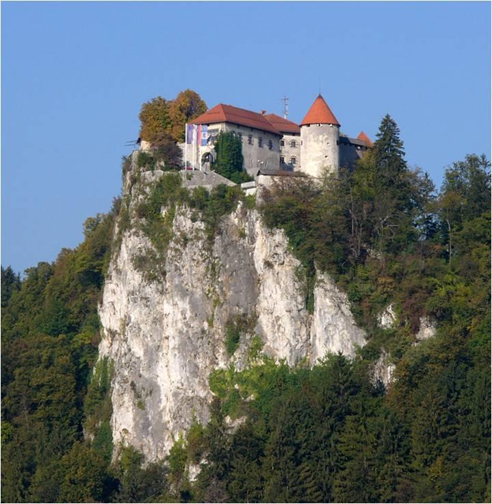 Lake Bled Castle, Bled, Slovenia