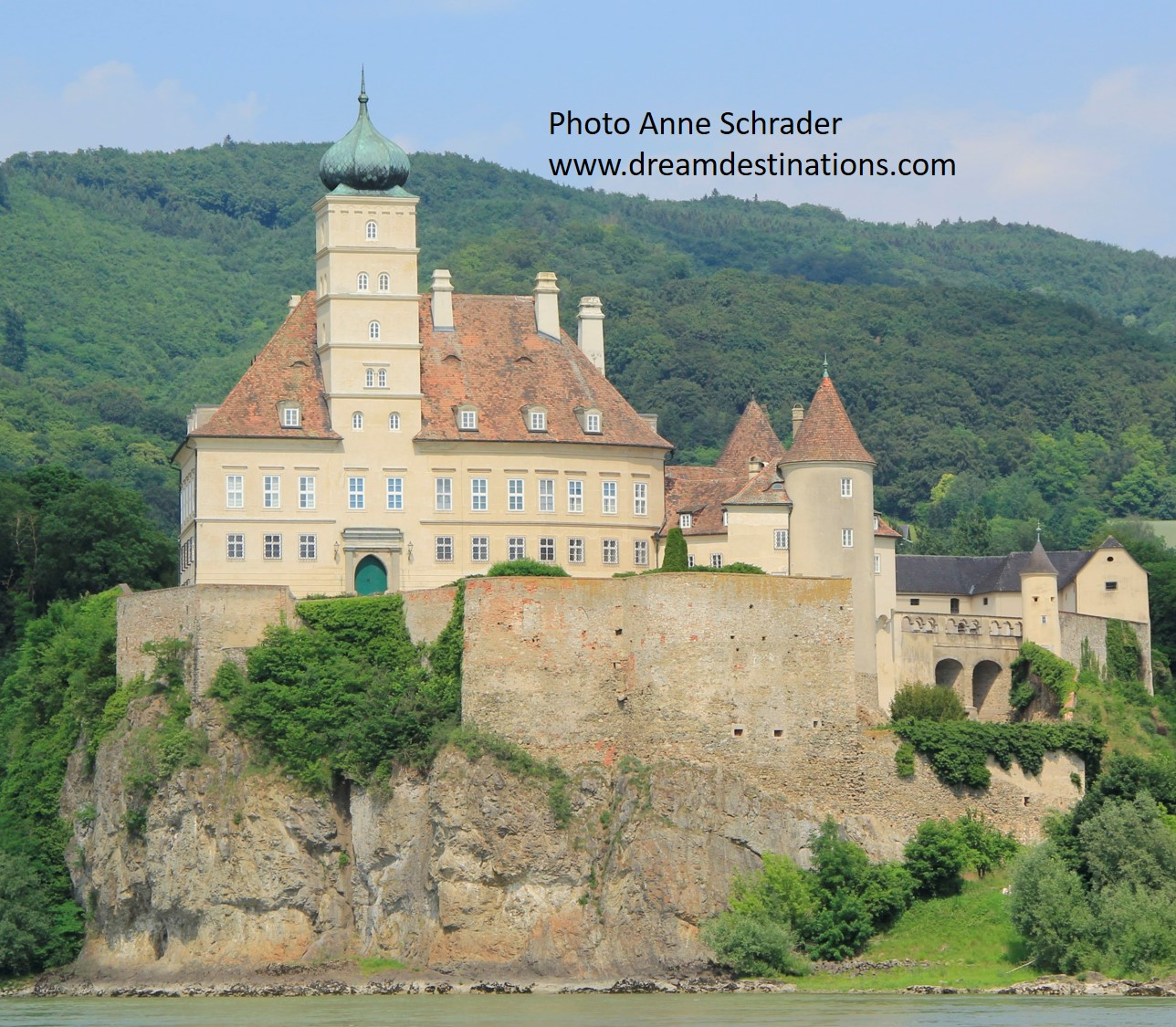 Who wouldn't like to go on a Danube River Cruise and see the Watchman of the Wachau Valley?—Schonbuhel Castle—the start on the most scenic part of the upper Danube!