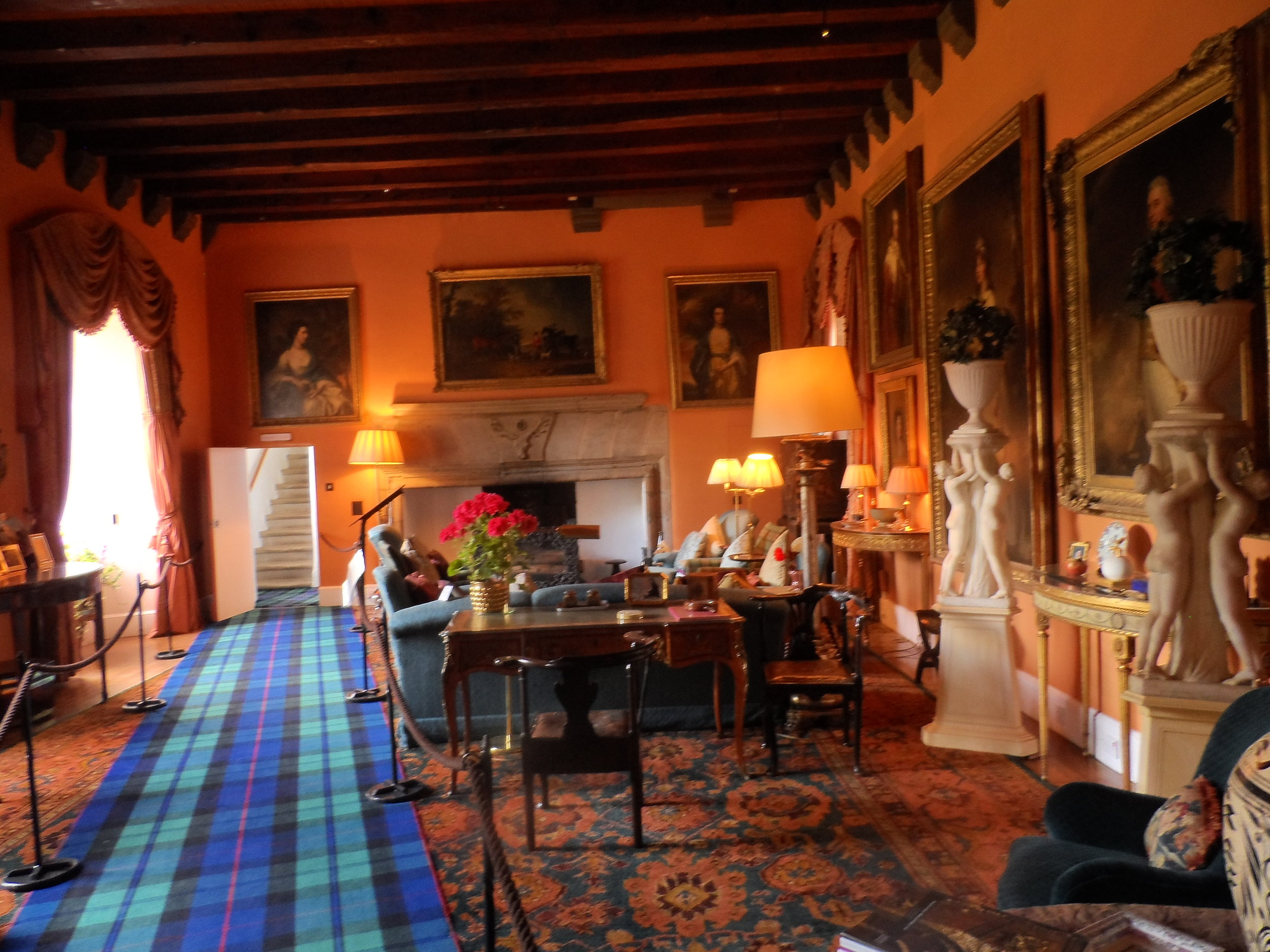 The Drawing Room, Cawdor Castle Scotland