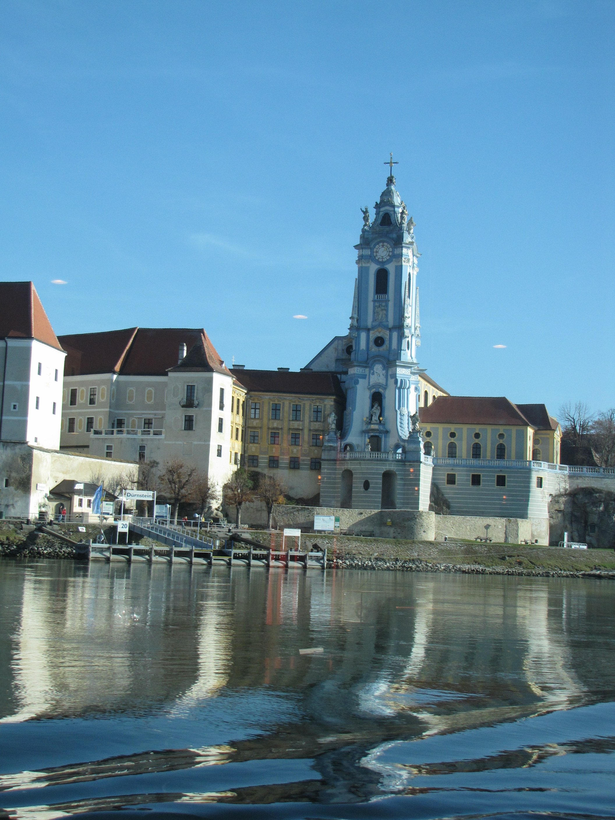Durnstien—a small village of 600—one reason Europe river cruises are so popular