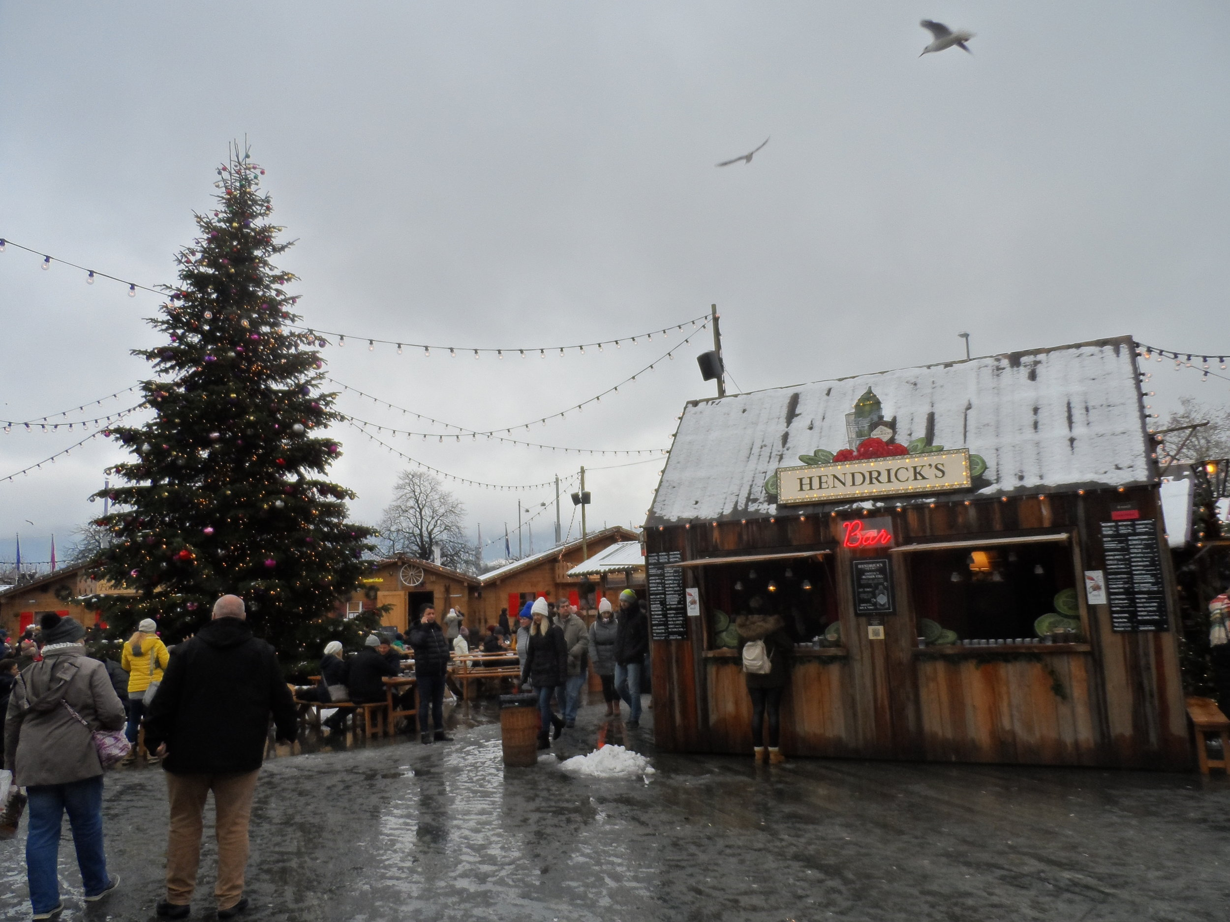 Outdoor Christmas Market