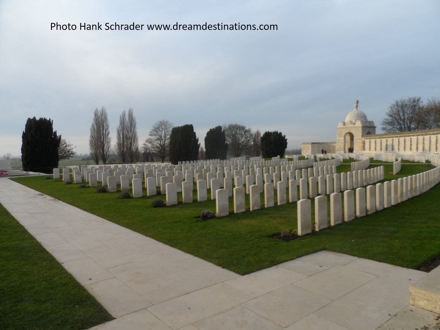 Tyne Cot Cemetery and Memorial