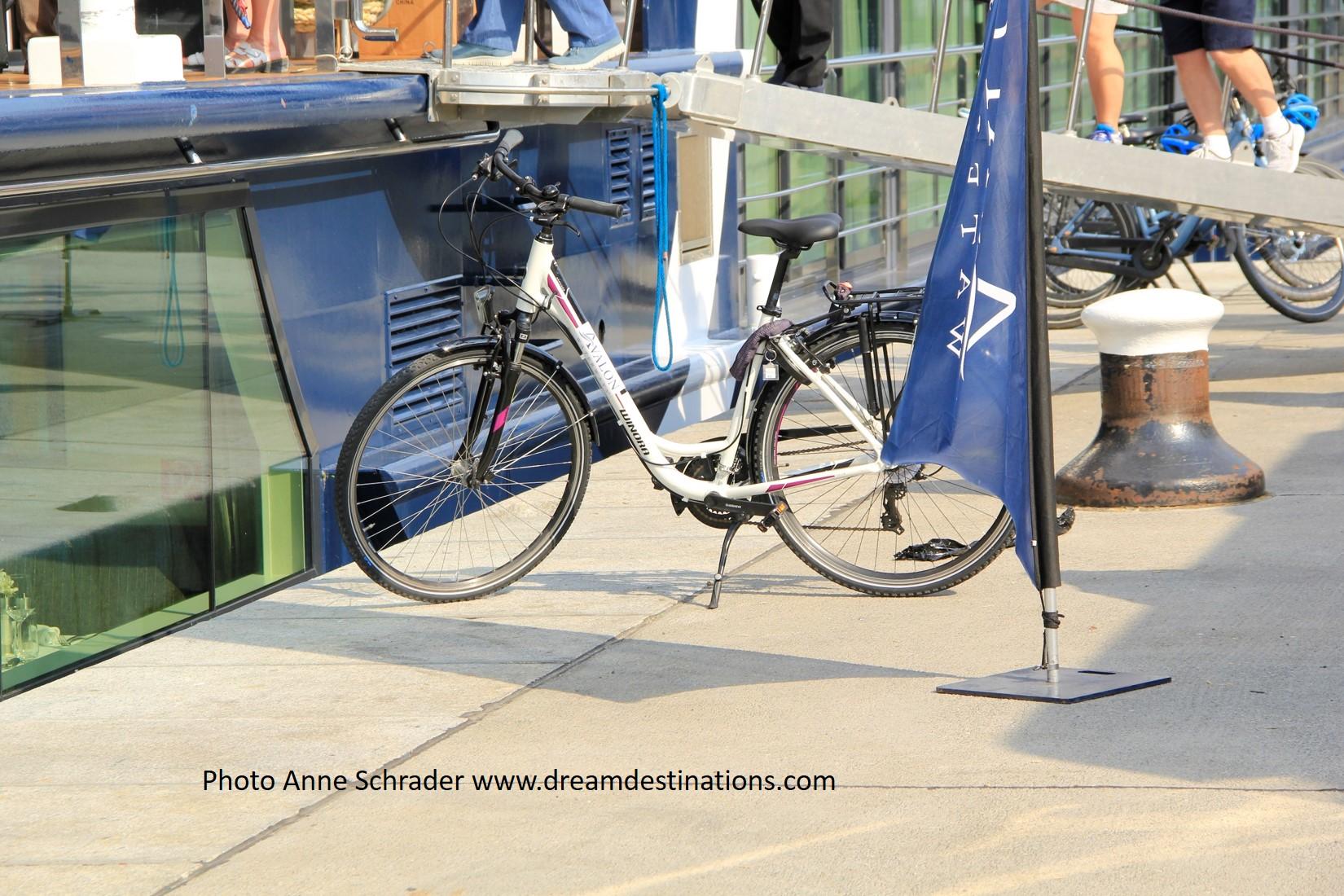 Avalon Bikes ready for use.