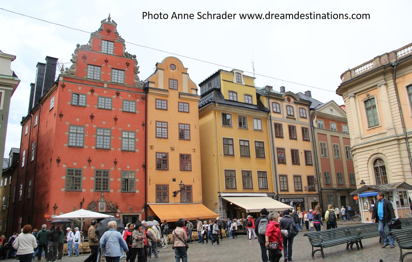 Stortorget Square in Old Town Stockholm