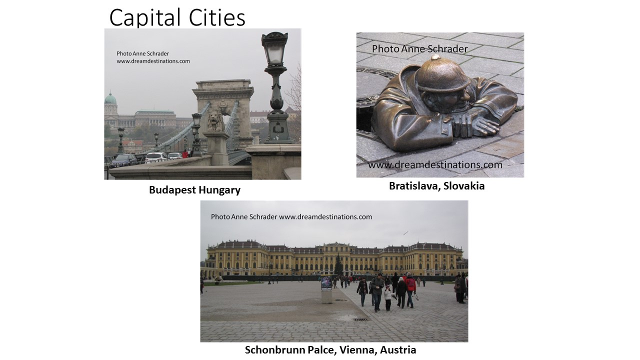 Upper Danube Capital Cities