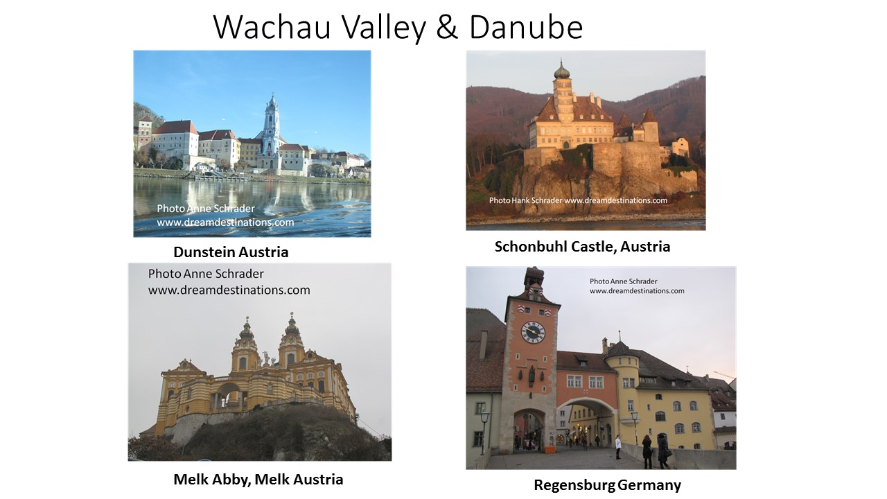 The Scenic Wachau Valley on the Upper Danube River