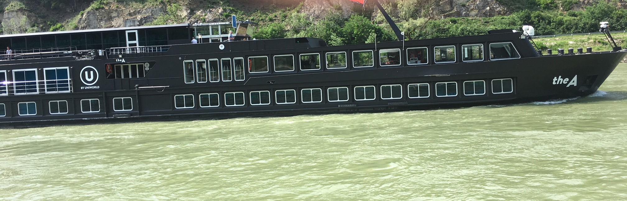 The A by Uniworld—a Europe river cruise for the younger crowd!