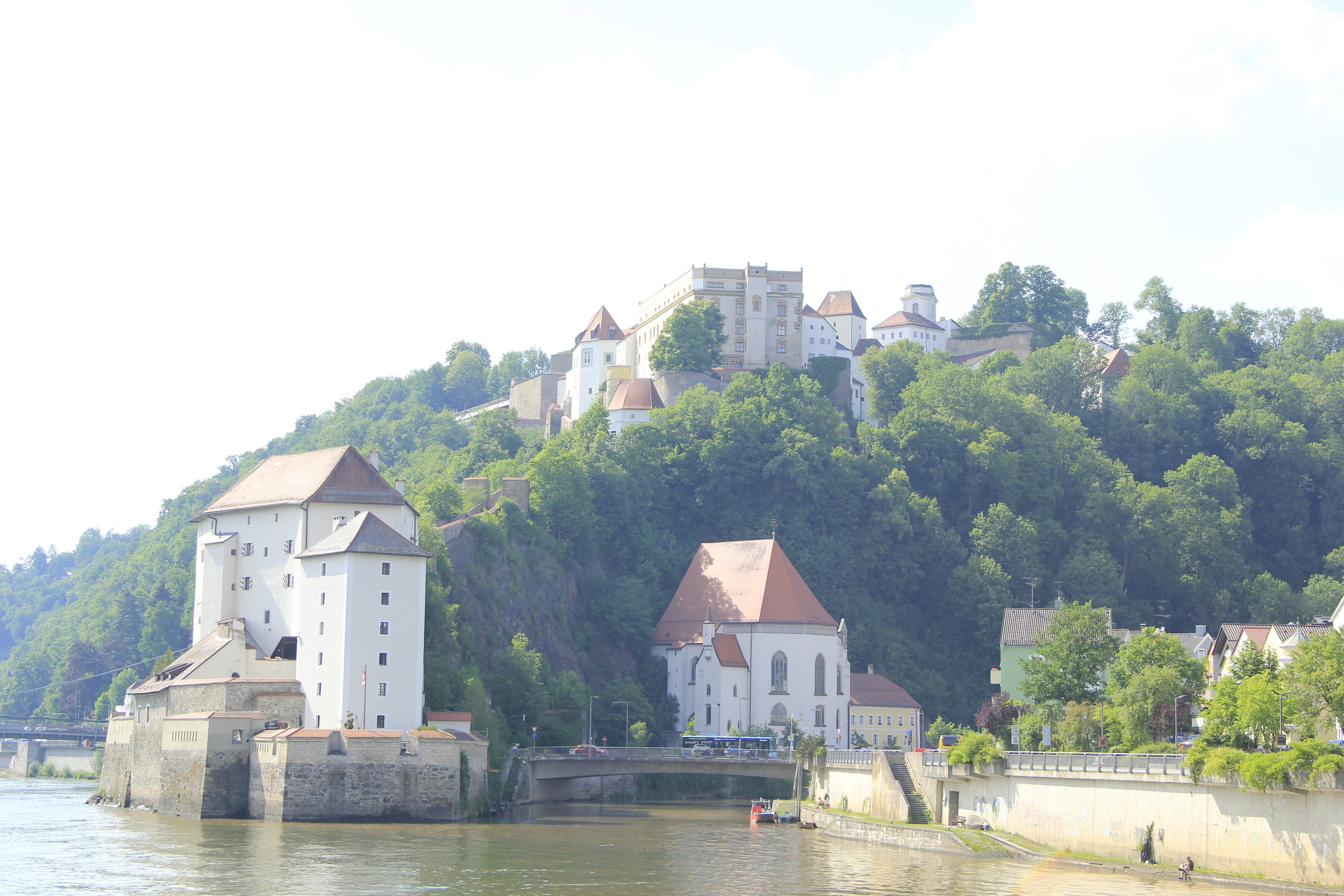 Passau with the Berg Oberhaus