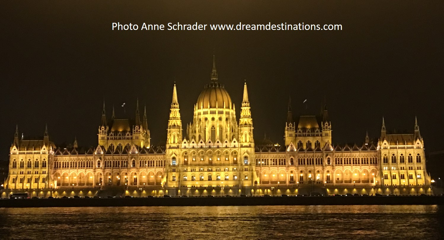 Budapest Parliament at night—just awesome!