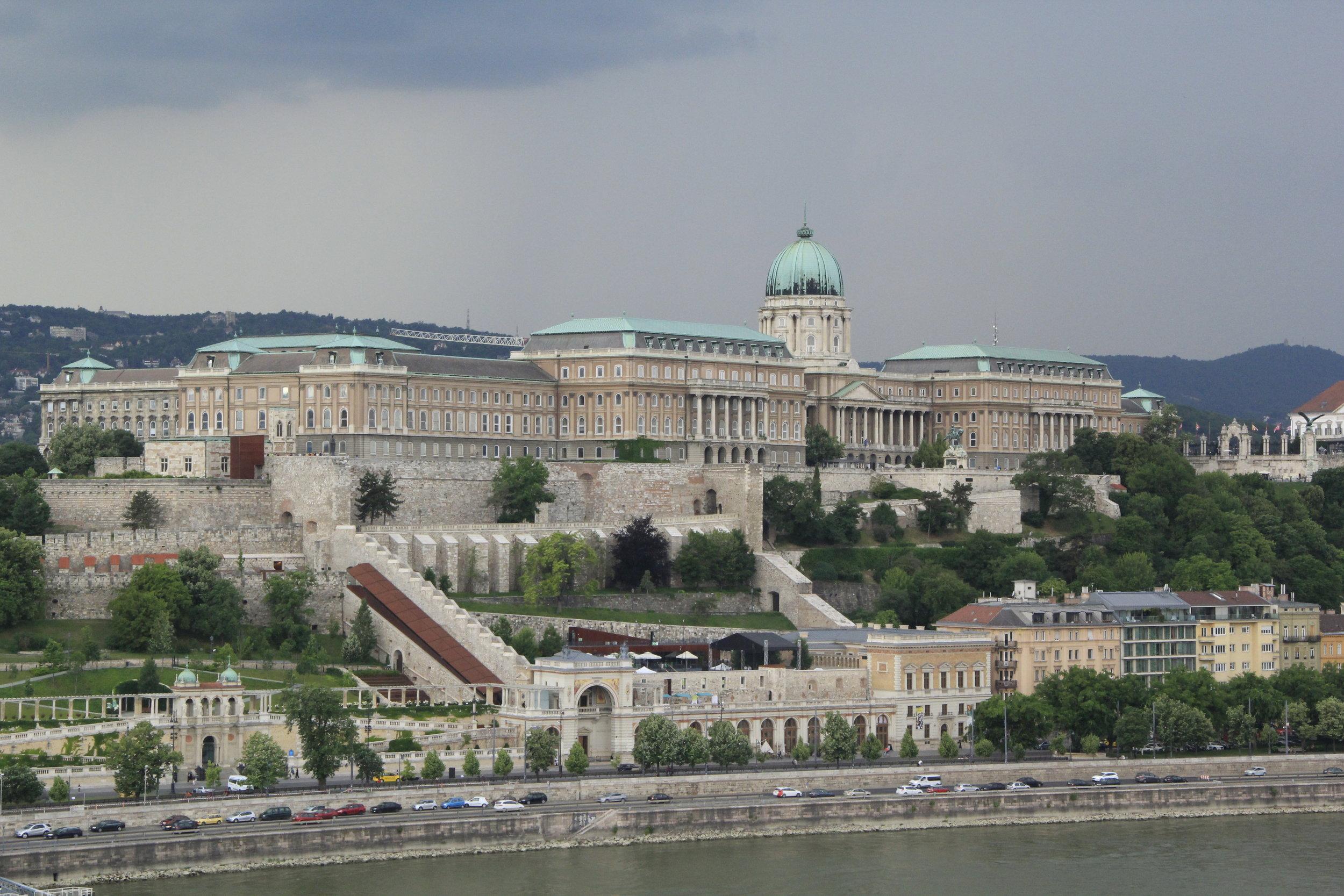 Buda Castle. Budapest, Hungary