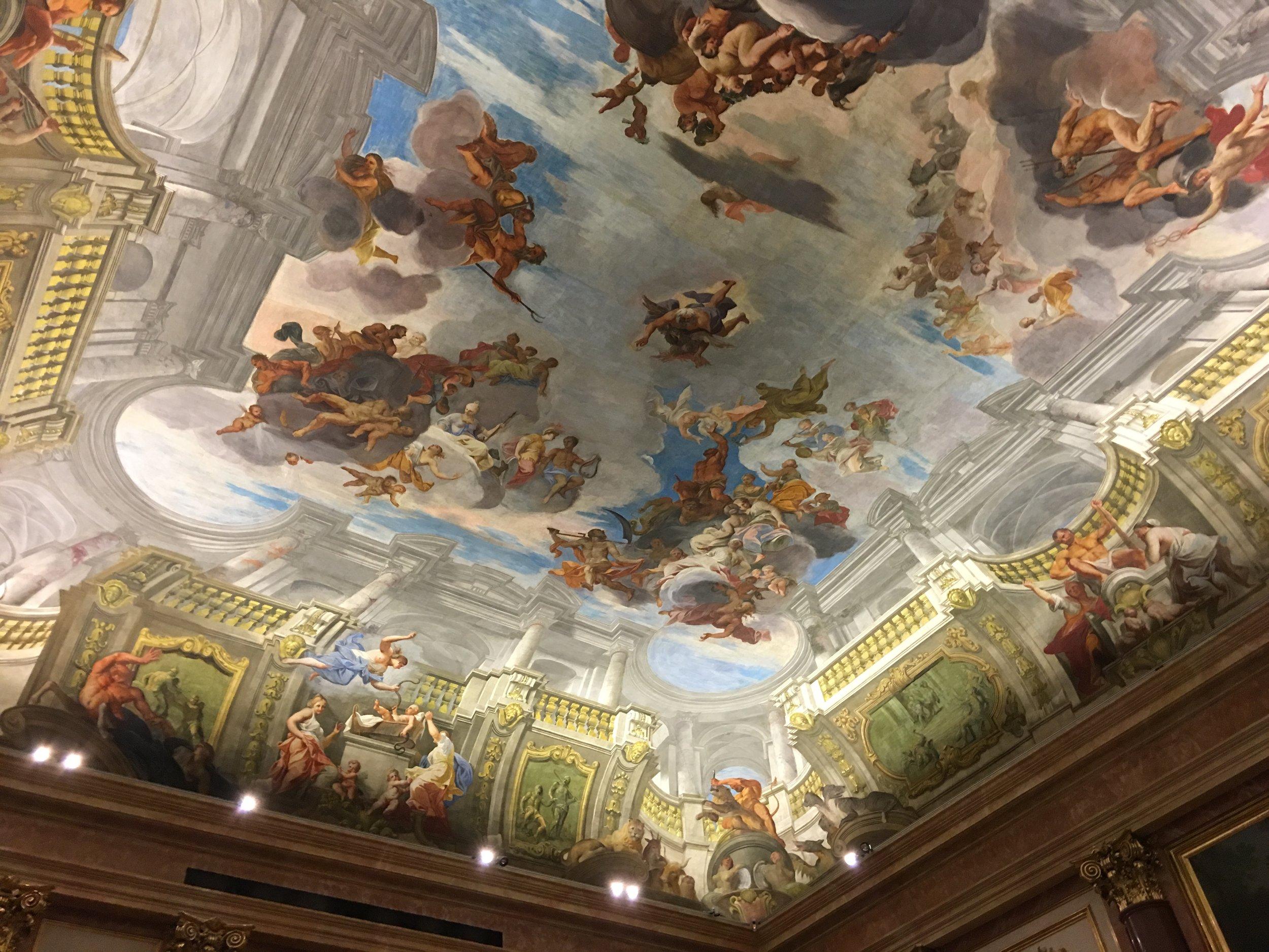Great Concert venue—Palais Liechtenstein in Vienna
