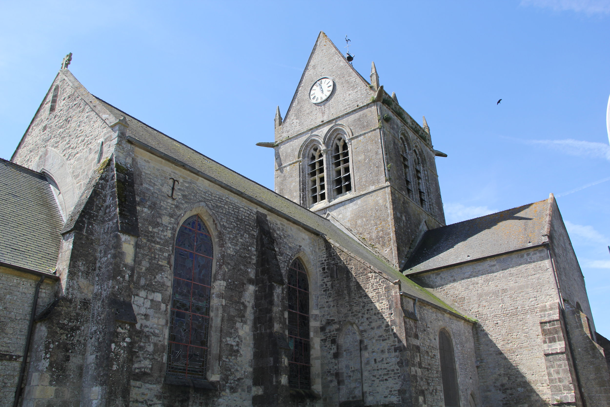 The Church of Ste Mere Eglise