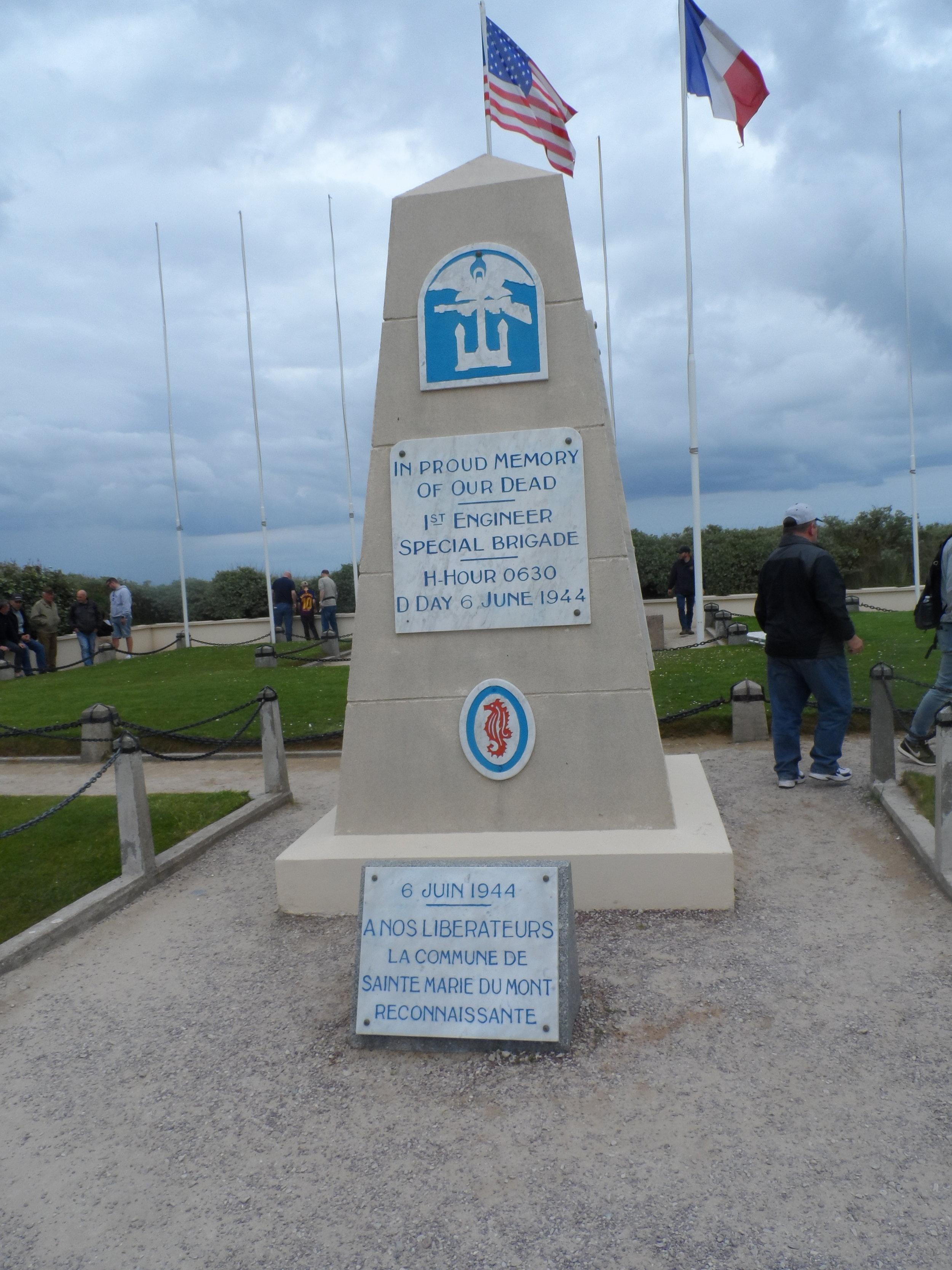 1st Engineer Monument Utah Beach