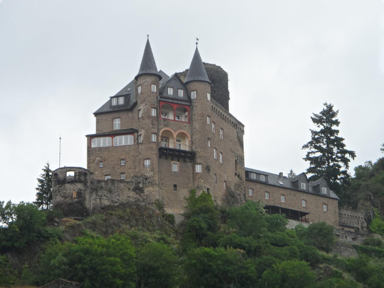 Katz (Cat) Castle on the Rhine River Gorge in 2019