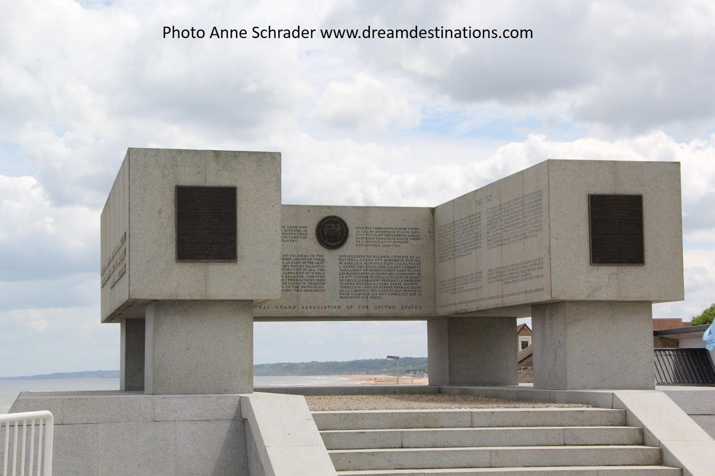 Omaha Beach Monument 2014