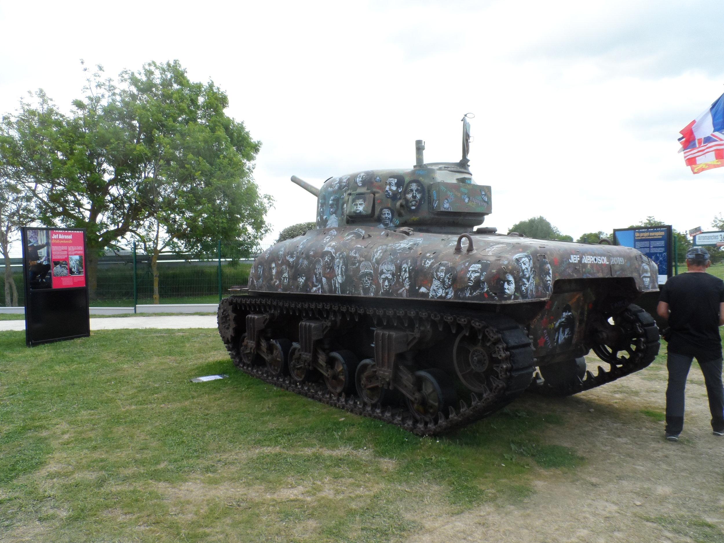 Peace Tank Arromanches 2019