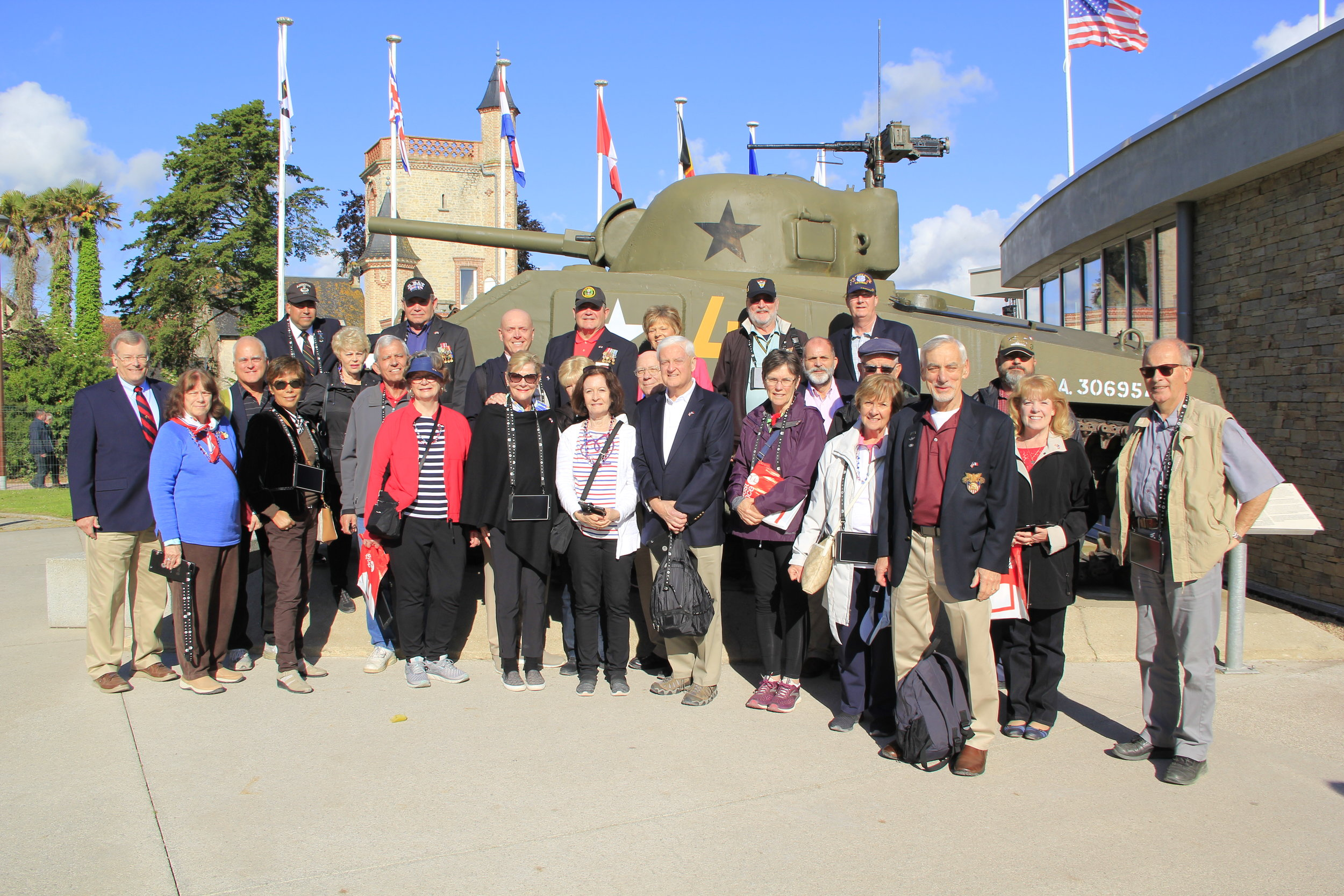 Part of Our 2019 D Day Tour Group