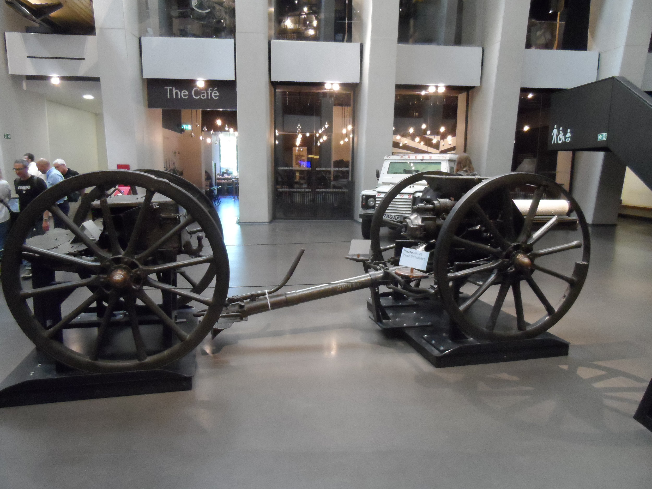 WW I Artillery Cannon Imperial War Museum