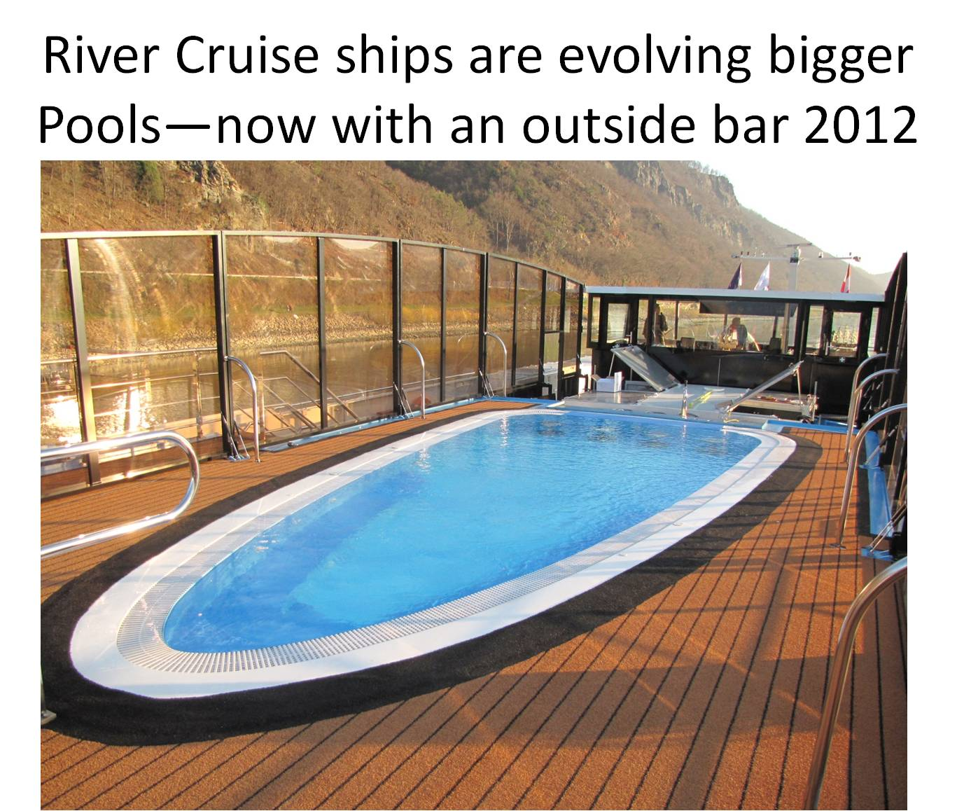 Great place to enjoy the sights while cruising